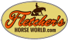 Fletcher's Horse World Logo
